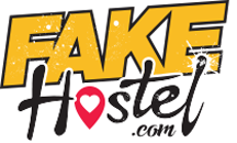 Fake Hostel Logo